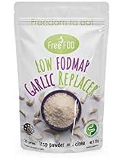 FreeFOD Garlic Replacer   Low FODMAP Garlic Seasoning   Made with Real Garlic Oil   72g