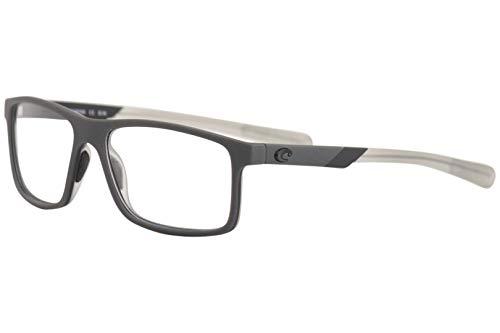 Frame Black Eyeglasses 101 - Costa Del Mar Eyeglasses Ocean-Ridge OCR101 146 Grey/Black Optical Frame 57mm