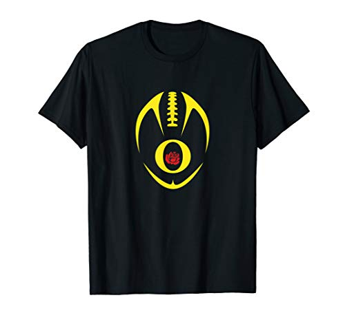 Oregon Fan Quote Rose Duck Game Day Cool Ball Gear Fun Gift T-Shirt