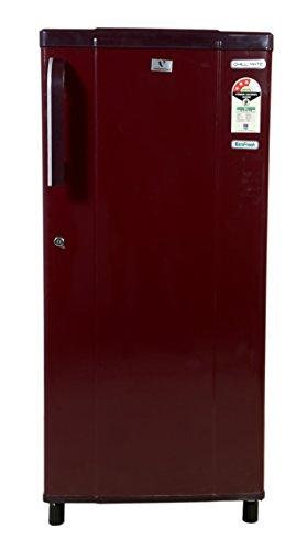 Videocon 190 L 3 Star Direct Cool Single Door Refrigerator VAE203, Red