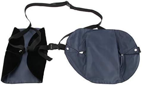 [해외]Perfeclan 풋 레스트 스트랩 이동 비행기 조절 가능 휴대용 발판 해먹 3 색상 선택-감색 / Perfeclan Footrest Strap Moving Airplane Adjustable Portable Footrest Hammock 3 Colors - Dark Blue