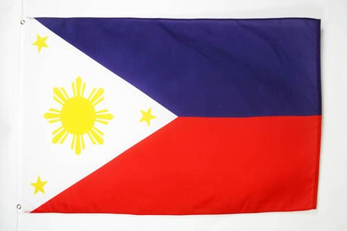 (AZ FLAG Philippines Flag 2' x 3' - Filipino Flags 60 x 90 cm - Banner 2x3 ft)