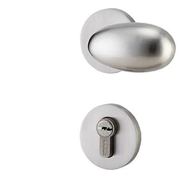 Interior door locks lovely egg-shaped handle - Biometric Lock Door ...