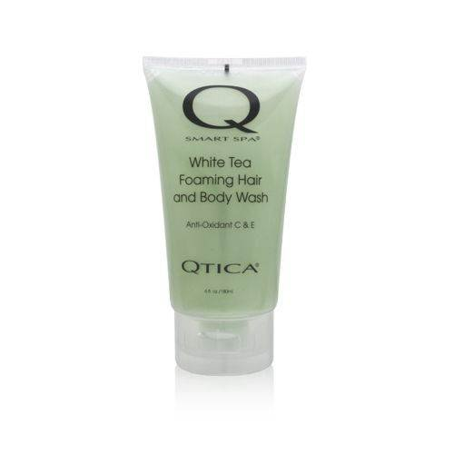 Qtica Smart Spa White Tea Foaming Hair and Body Wash 6.0 oz