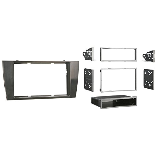 Metra 99-9501G Single or Double DIN Installation Dash Kit for 2002-2007 Jaguar X-Type or 2003-2006 Jaguar S-Type Gray
