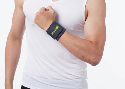SENTEQ Wrist Brace. Medical Grade and FDA Approved Best Wrist Support Strap for Strengthens and Supports Wrist Tendons and Muscle. (SQ1-H001-L)
