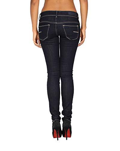 Vaquero Azul Fit W Legging MARYON Mujer Meltin'Pot para Jeans 8nZ0fwB5
