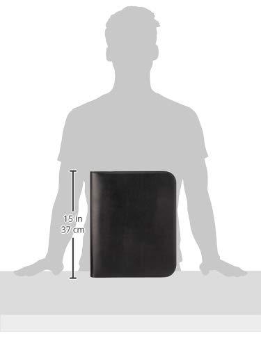 Alassio 30143 - Ringbuchmappe MONTErot im im im DIN A4 Format, Schreibmappe aus Lederimitat, Dokumentenmappe in schwarz, Fächermappe ca. 36 x 28,5 x 4 cm, Mappe  mit Fächertasche und Taschenrechenr B07FKPG5N4   Online Shop Europe  bd93b1