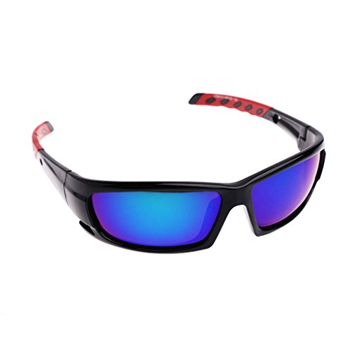 NDJK Cycling Polarized Men Sunglasses Windproof UV400 Glasses Outdoor Driving Goggles