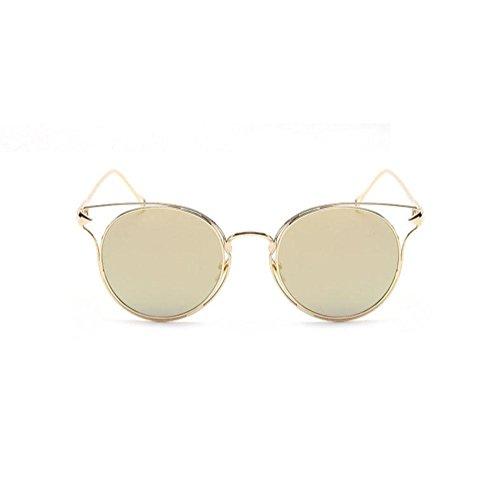 Z&YQ Occhiali da sole alla moda Freccia Metal Frame Unisex UV400 Driving travel Eyewear, C