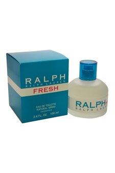 Price comparison product image Ralph Lauren Eau De Toilette Spray for Women, Fresh, 3.4 Ounce