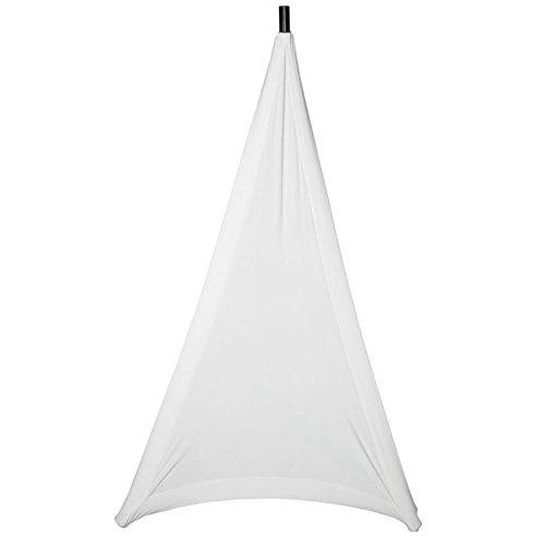 Embroze Lightstretch WHITE - 3 Sided Tripod Speaker - Scrim King Speaker Cover