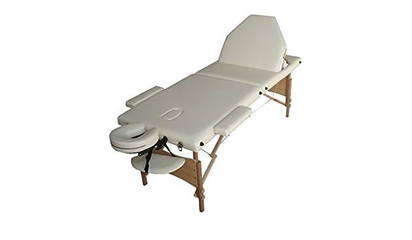 Mesa de masaje R3 W crema plegable portátil en madera 3 Plans estética depilatorio tatuaje Tattoo kinésithérapie Neuve con funda transporte...: Amazon.es: Salud y cuidado personal