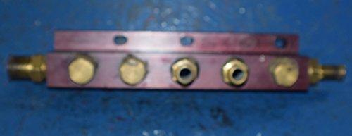 (DETROIT DIESEL DD15 ENGINE MANIFOLD HEATER PLUMBING RETURN 05-28704-000 -> 4972)