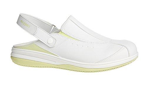 Oxypas Iris, Women's Safety Shoes, White (Lgn), 8 UK (42 EU)