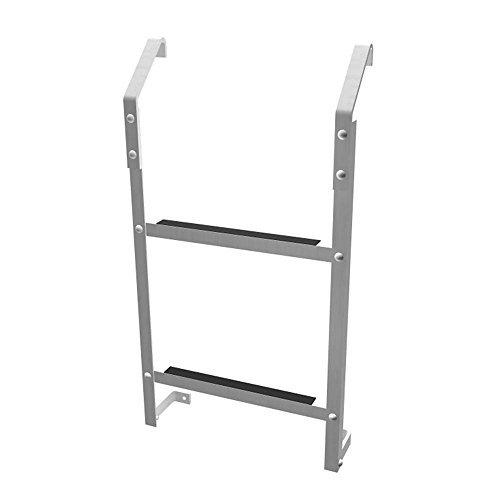 2-Step Aluminum Basement Window Well Egress Escape Ladder