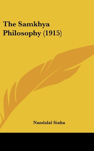 The Samkhya Philosophy (1915) Nandalal Sinha
