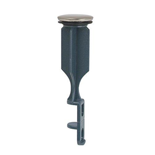 BrassCraft Universal Bathroom Drain Pop-Up Stopper, Satin Nickel by BrassCraft Mfg