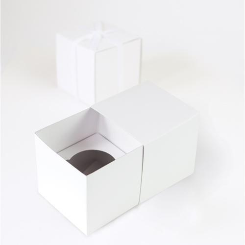 Paper Eskimo Cupcake Box (Pack of 6), White CBWT1464