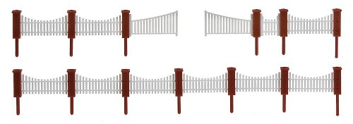 Faller 180429 Front Garden Fencing Scenery and Accessories Building Kit