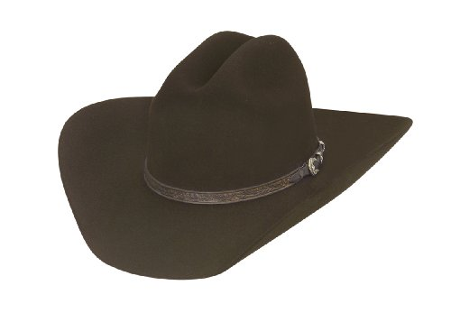 Larry Mahan Retro Fur Felt Cowboy Hat (7 1/8, ()