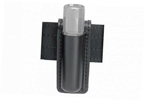 Safariland 306 Open Top Mini Flashlight Carrier, Basketweave Black, SureFire 6P, Plain Black (Safariland Mini Flashlight)