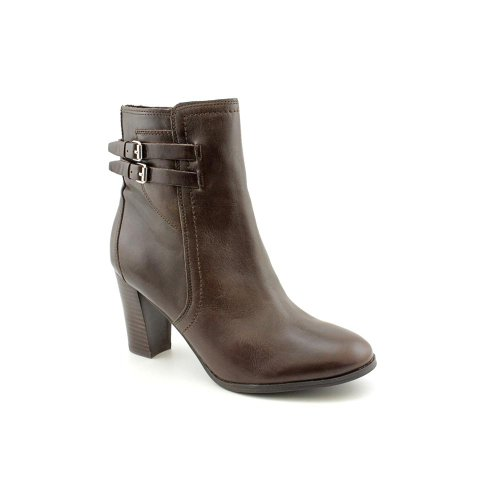Dark Womens Boots Marc Fashion Fisher Brown Leather Kattie Ankle 0wxgZF