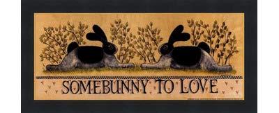 低価格 small-somebunny Lisa to Love by – Lisa Hilliker Black – 12 x 5インチ – アートプリントポスター LE_614045-F101-12x5 Classic Black Frame B01N25XHMN, TUBE:e2c031e7 --- a0267596.xsph.ru