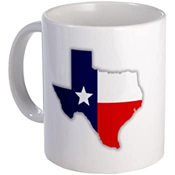 Amazon Com Show Love For Texas Us State Flag 11oz Ceramic
