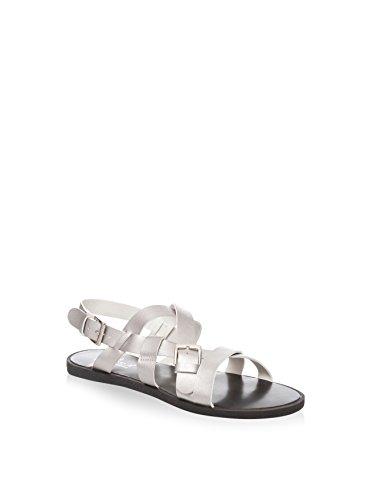 Tantra Striped Sandals - Sandalias para mujer Plateado