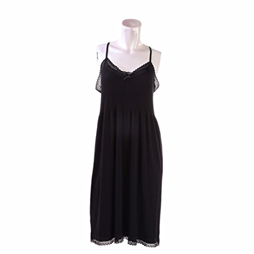 Women's Fashion Lace Sleeveless Camisoles Tanks style 2 black