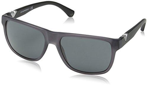 bb3c13c602ac Emporio Armani EA 4035 Men s Sunglasses Matte Grey 58 - Buy Online in KSA.  Apparel products in Saudi Arabia. See Prices