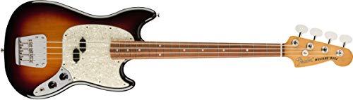 Fender Jaguar Bass Sunburst - Fender Vintera 4 String Bass Guitar, Right, 3-Color Sunburst, 3/4 (149653300)