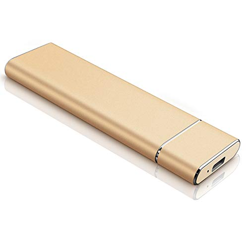 Portable 1TB External Hard Drive, Slim Hard Drive External Data Storage Hard Drive-USB3.0 HDD for Mac,PC and Laptop