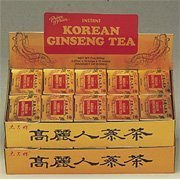 - Prince of Peace Korean Ginseng - Instant Tea 2 grams 100 foil packets (Pack of 2)