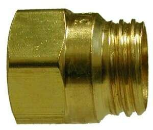 3//8 Hose I.D Size Air Brake Reusable Nut for Spring Midland 38-312 Brass D.O.T 31//32-20 Thread Size