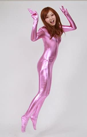 Rich Man Costumes - Catsuit pink cover-to-toe and fingertip (AM17-5H) Men
