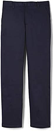 French Toast Boys Adjustable Waist Work Wear Finish Relaxed Fit Pant (Standard & Husky) P