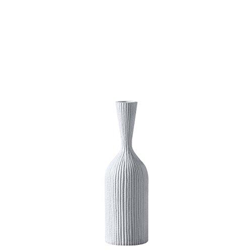 Torre & Tagus 902326A Zoro Carved Line Resin Floor Vase, ...