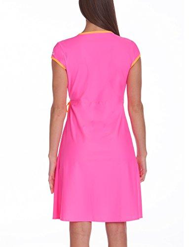 sofferenza da Dress 300 nbsp;Beach Company spiaggia vestito donna per iQ Fasciatoio Rosa Neon UV x6wqP1ZZf