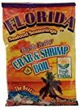 Florida Seafood Seasonings Crab & Shrimp Boil Garlic Butter 5 oz (6 Pack)