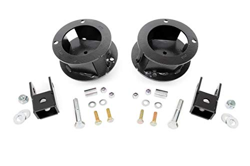 Rough Country - 377-2.5-inch Suspension Leveling Kit for Ram: 14-18 2500 4WD, 13-18 3500 4WD ()