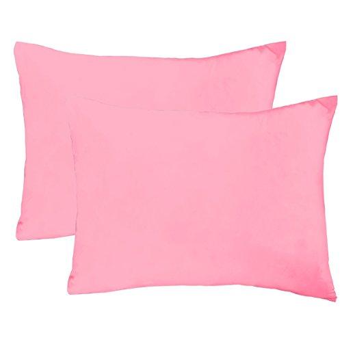 Mellanni Toddler Pillowcase Set Pink product image