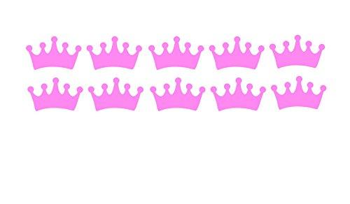 Crown Vinyl StickersTiara Decor Birthday Party DecorationsGirl First BirthdayPrincess