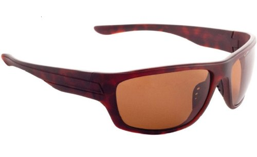 Fisherman Eyewear Striper Sunglasses with Brown Polarized Lens, Tortoise - The Sunglasses Head Over