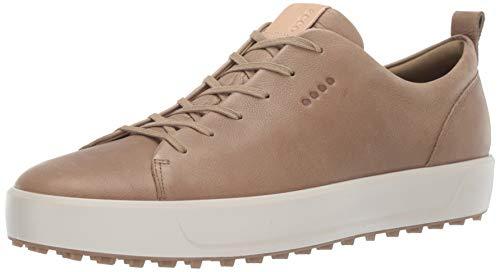 ECCO Men's Soft Hydromax Golf Shoe Navajo Brown 46 M EU (12-12.5 US)