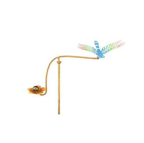 Red Carpet Studios 34272 28-Inch Mini Balancing Yard Art, Dragonfly