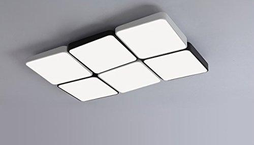 Ooccasion Modern Und Minimalistisch Rechteckigen Wohnzimmer Helle Warme Kreative Led Deckenleuchte Lobby Licht Dimmen Lampe