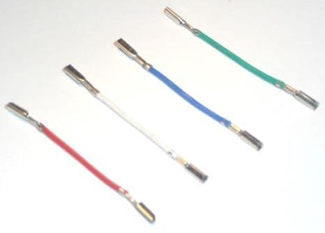 Tocadiscos cartucho Headshell cables de conexión RCA ...