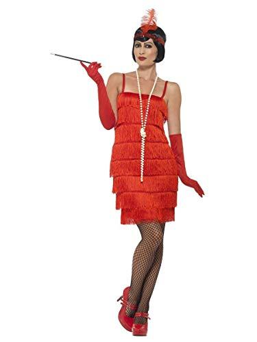 Red Flapper Short Dress Adult / Plus Costume